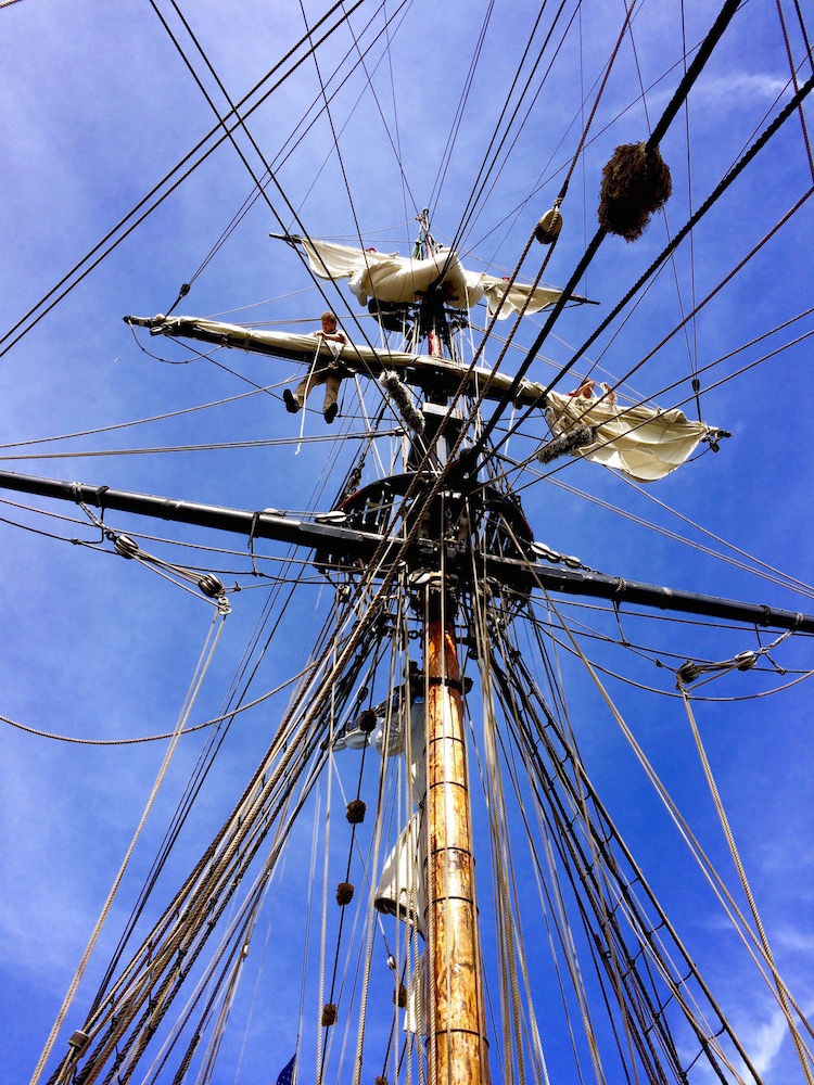 Lady Washington Main Mast