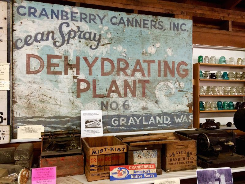 Old Ocean Spray Sign