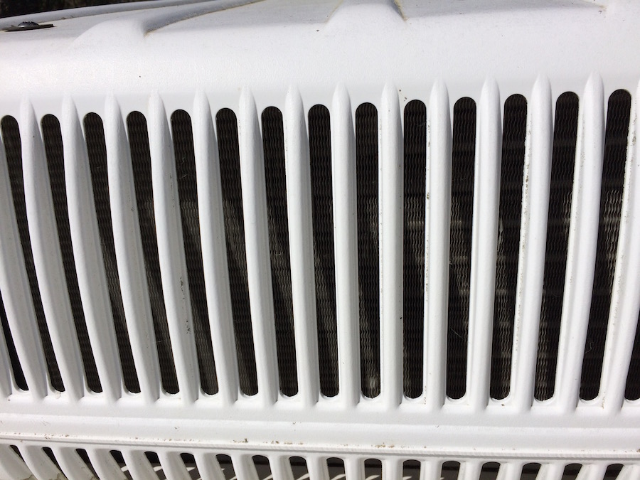 RV Rooftop AC Fins