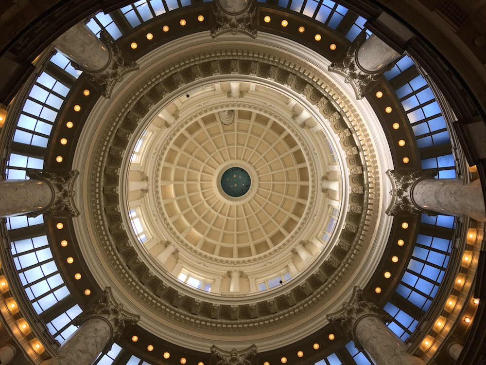 Idaho State Capitol Rotunda-Dome