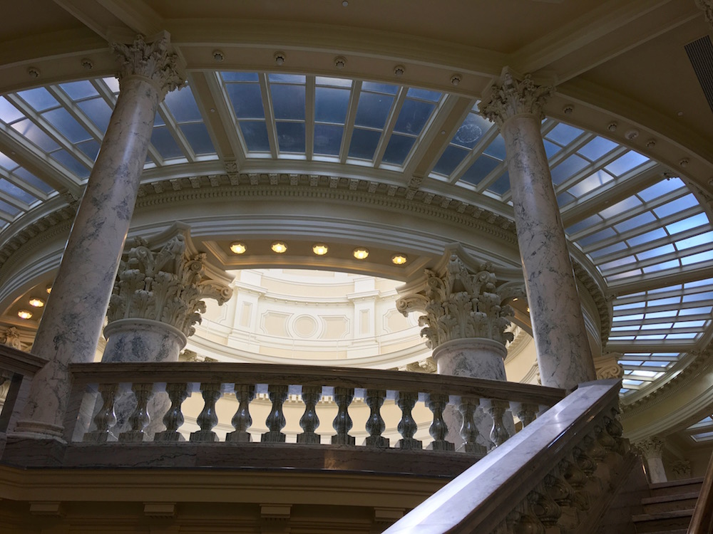 Upper Floors of Idaho State Capitol Building