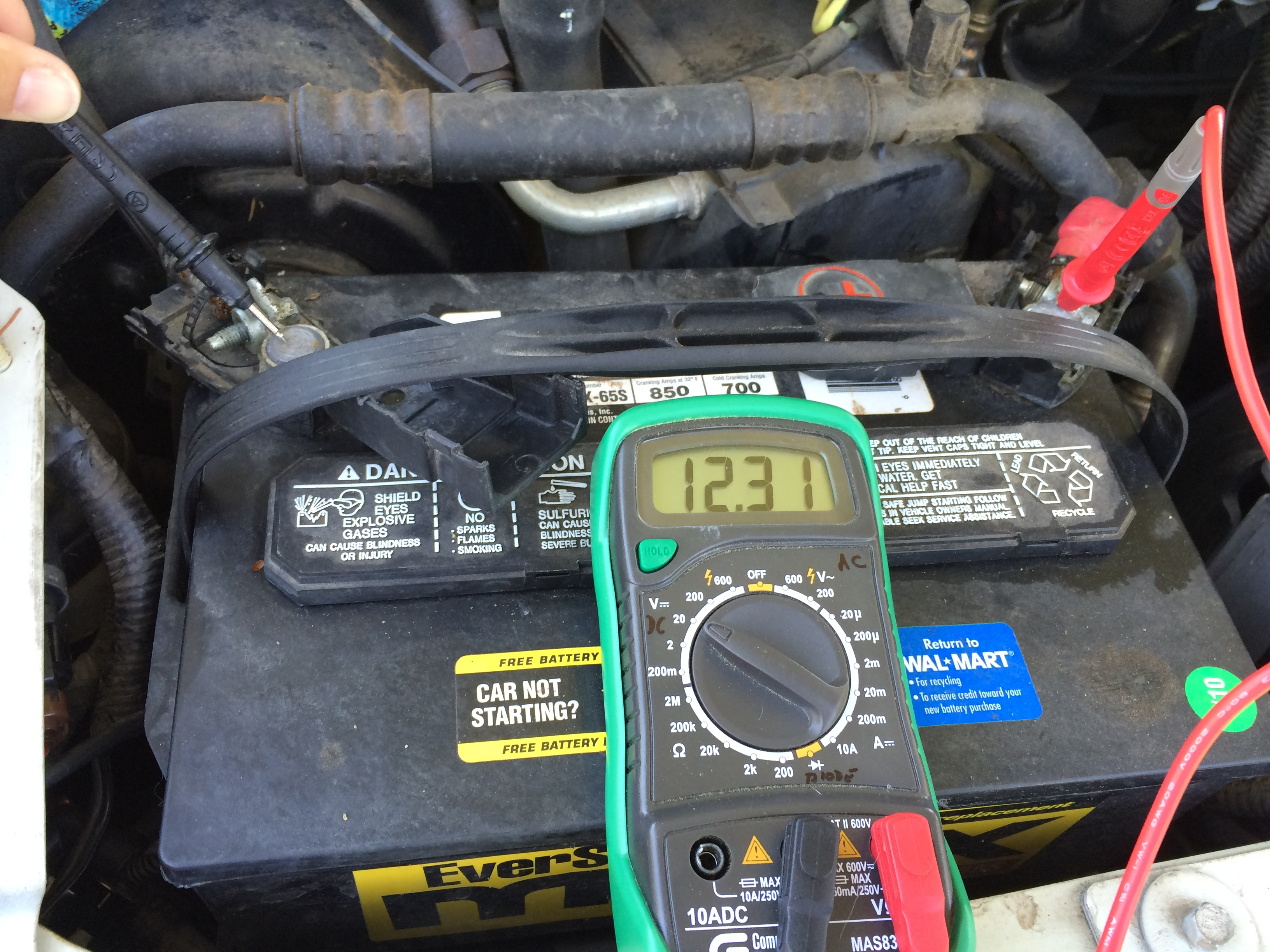 how to check your RV battery with a multimeter