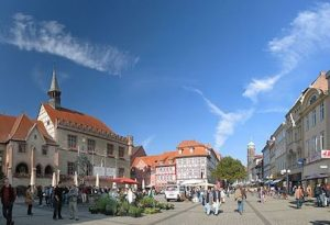 Goettingen Marktplatz - Marketplace in Goettingen - Antilived