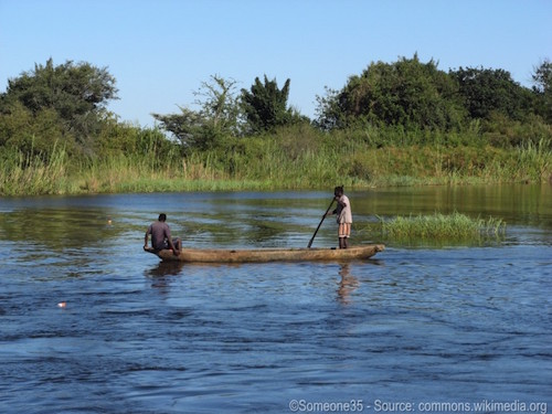 African River - Don't camp by the river - Someone35