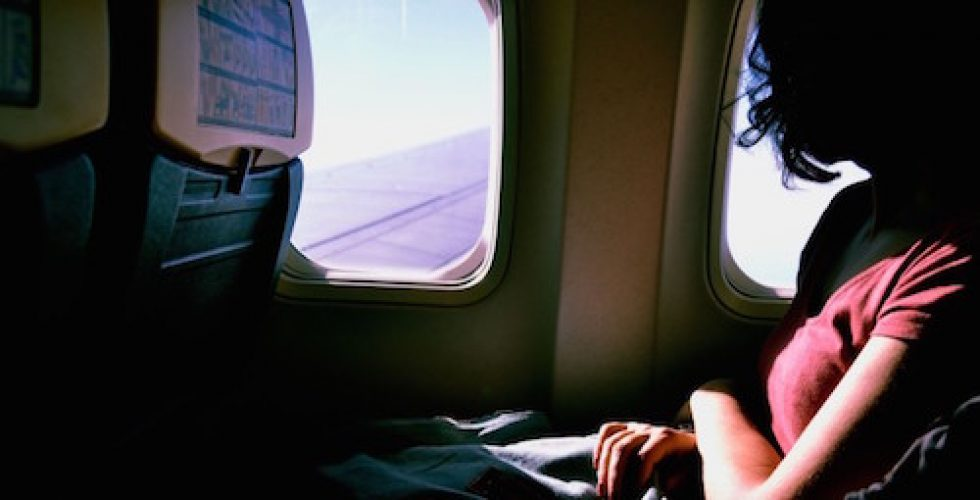 Wanderlust - looking out of an airplane-Sofia-Sforza-unsplash.com_-768x391