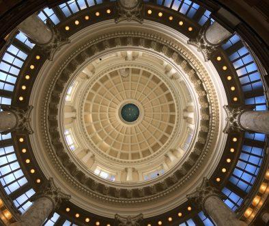 Idaho State Capitol Rotunda-Dome