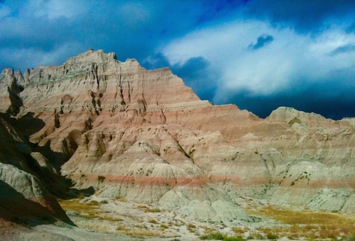 Badlands landscape - South Dakota